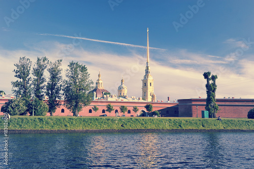 Photo Peter and Paul fortress in Saint-Petersburg