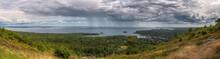 Panorama From Mt Battie In Cam...