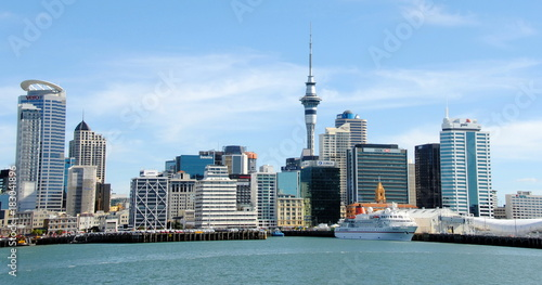 Photo Waterfront in a sunny day in Auckland, New Zealand.