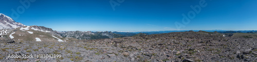 Panorama Atop Burroughs Mountain