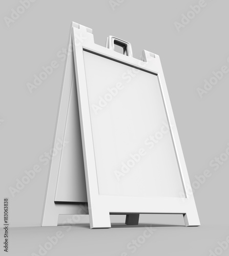 Lightweight and portable plastic A-Frames Advertising Banner Stands ...