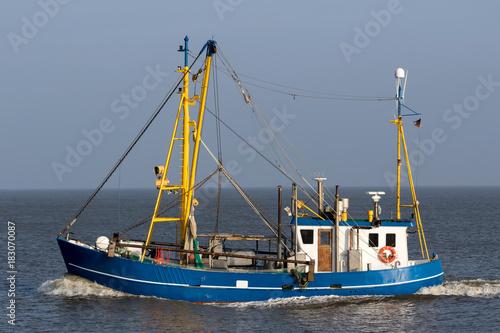 fishing vessel at sea