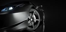 Black Sports Car.