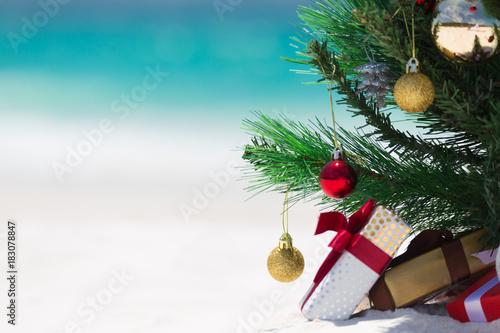 Photo Australian Beach Christmas