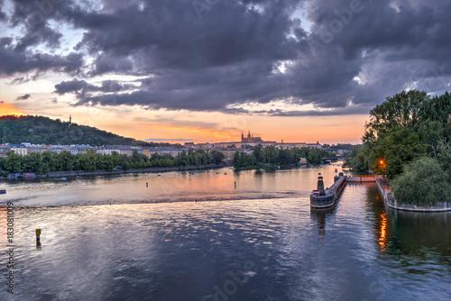 Fotografie, Obraz Moldava River
