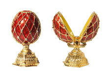 Egg Casket Copy Of Faberge