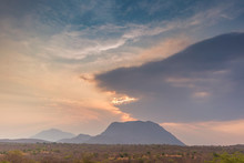 African Landscape In Lubango, ...