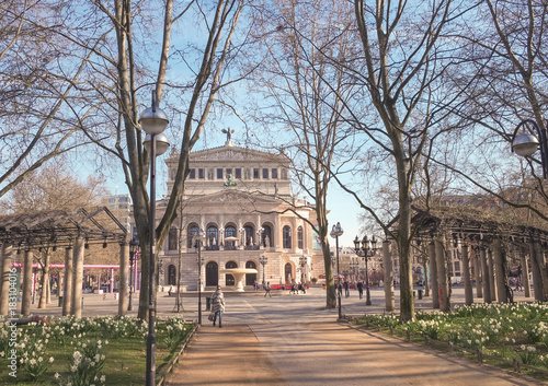 Papiers peints Opera, Theatre Alte Oper Frankfurt