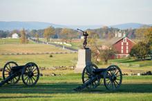View Across The Gettysburg Battlefield Park