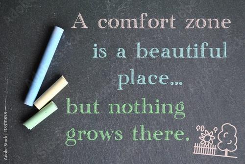 Fotografía  Comfort zone