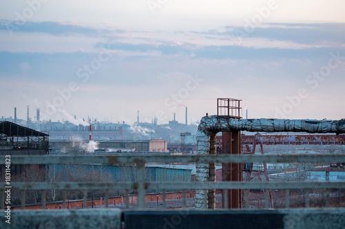 Staande foto Industrial geb. factory and industrial zone