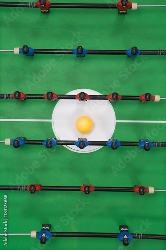 Table soccer game - Buy this stock photo and explore similar