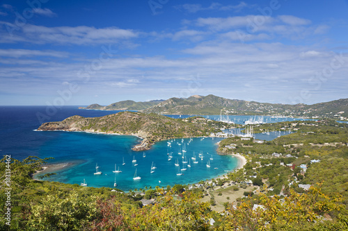 Cadres-photo bureau Caraibes English Harbor, Antigua