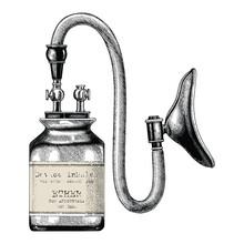 Device Inhaler For Ether Anest...