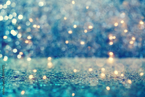 Fototapeta Beautiful abstract shiny light and glitter background obraz na płótnie