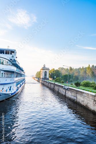 Fotografie, Obraz  boat trip on the river