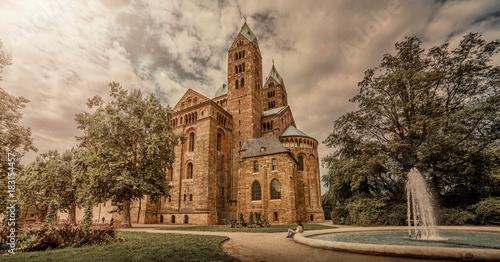 Fotografie, Obraz  Kaiserdom, Dom in Speyer