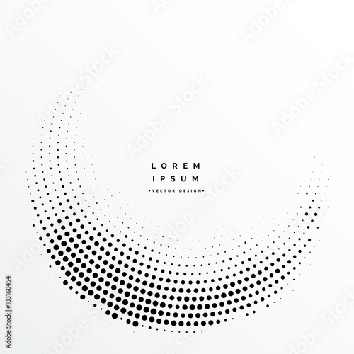 Photo  abstract halftone dots background design