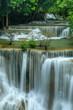 Huai-mae-kha-min waterfall, Beautiful waterwall in nationalpark of Kanchanaburi province, ThaiLand.