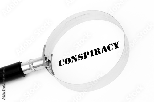 Fotografie, Obraz  Conspiracy in the focus