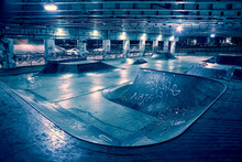 Gritty And Scary City Skate Pa...