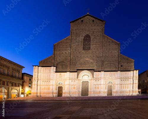 Fototapety, obrazy: Bologna. Basilica di San Petronio.