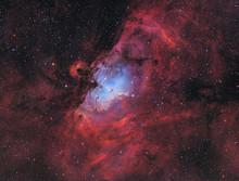Messier 16 - The Eagle Nebula ...
