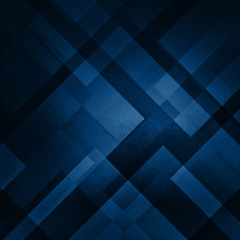 Abstract Blue Background In Da...