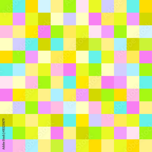 Seamless Multicolored Pattern Texture Abstract Geometric Wallpaper Of The Surface Pastel Light Colors Decorative Pattern For Print Or Fabric Buy This Stock Illustration And Explore Similar Illustrations At Adobe Stock