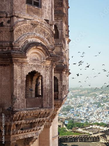 In de dag blick auf Jodhpur
