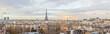 Paris skyline Eiffel tower