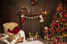 New Year And Christmas 2018. C...