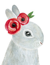 Cute Little One Bunny Portrait...