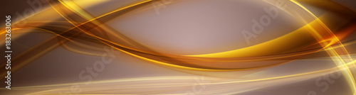Fotobehang Abstract wave Abstract elegant panorama background design with space for your text