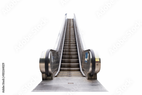 Photographie outdoor escalator isolated