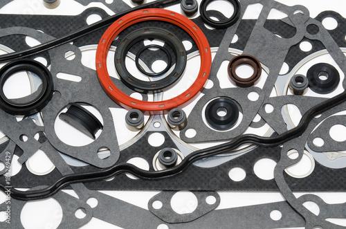 Fotografía car engine gaskets kit