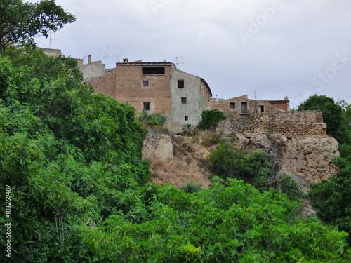Letur,pueblo en la provincia de Albacete en la comunidad autónoma de Castilla La Wallpaper Mural