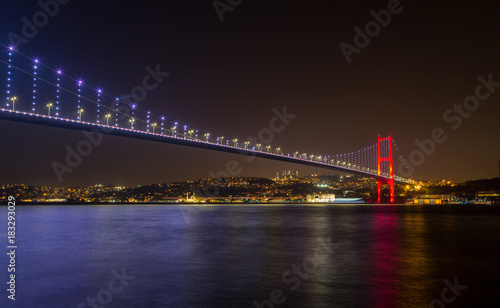 Poster Tokyo Bosphorus bridge of Istanbul