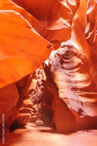 Keuken foto achterwand Rood traf. Red Rocks of Antelope Canyon