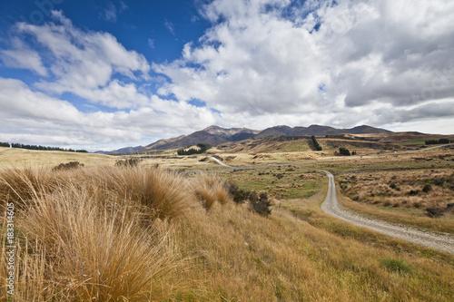 Photo  Steppen- und Weideland in Central Otago,Neuseeland