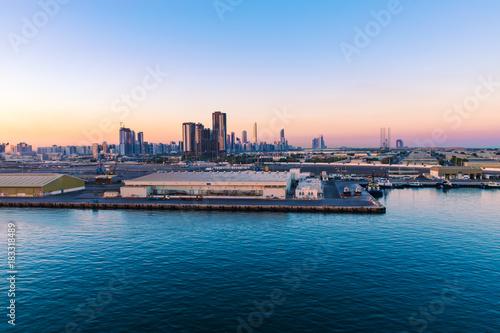 Canvas Prints Abu Dhabi Port of Abu Dhabi