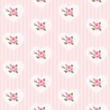 Cute Seamless Vintage Pattern ...