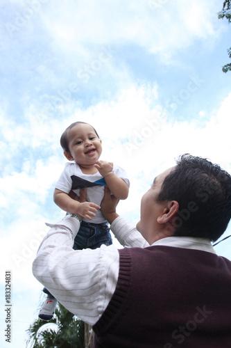 Fototapeta father day concept obraz na płótnie