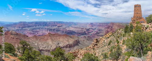 Spoed Foto op Canvas Canyon Grand Canyon, USA. Panoramic view