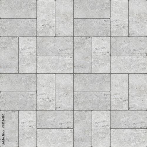 Naklejki na meble z wzorem betonowej kostki brukowej