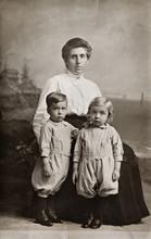 The Twins, Antique Photograph