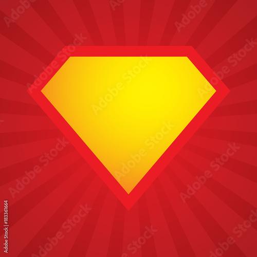 superhero logo element template vector superhero icon buy this