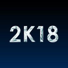 Symbols 2K18 On Dark Background