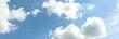 Leinwandbild Motiv Wolken am Himmel