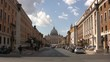Street in front of vatican city